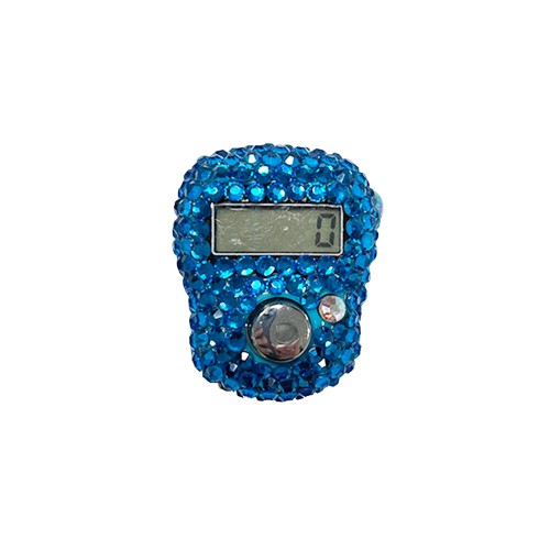 Tasbih Digital - Bright Blue